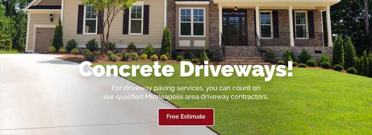 Inver Grove Heights Concrete Driveway Paving